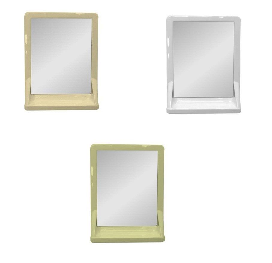 white bathroom mirror with shelf. bathroom k207 mirror shelf - ivory, soft cream or white, cabinets, mirrors, cabinets \u0026 shelves washroom for caravan and motorhomes, white mirror with shelf h