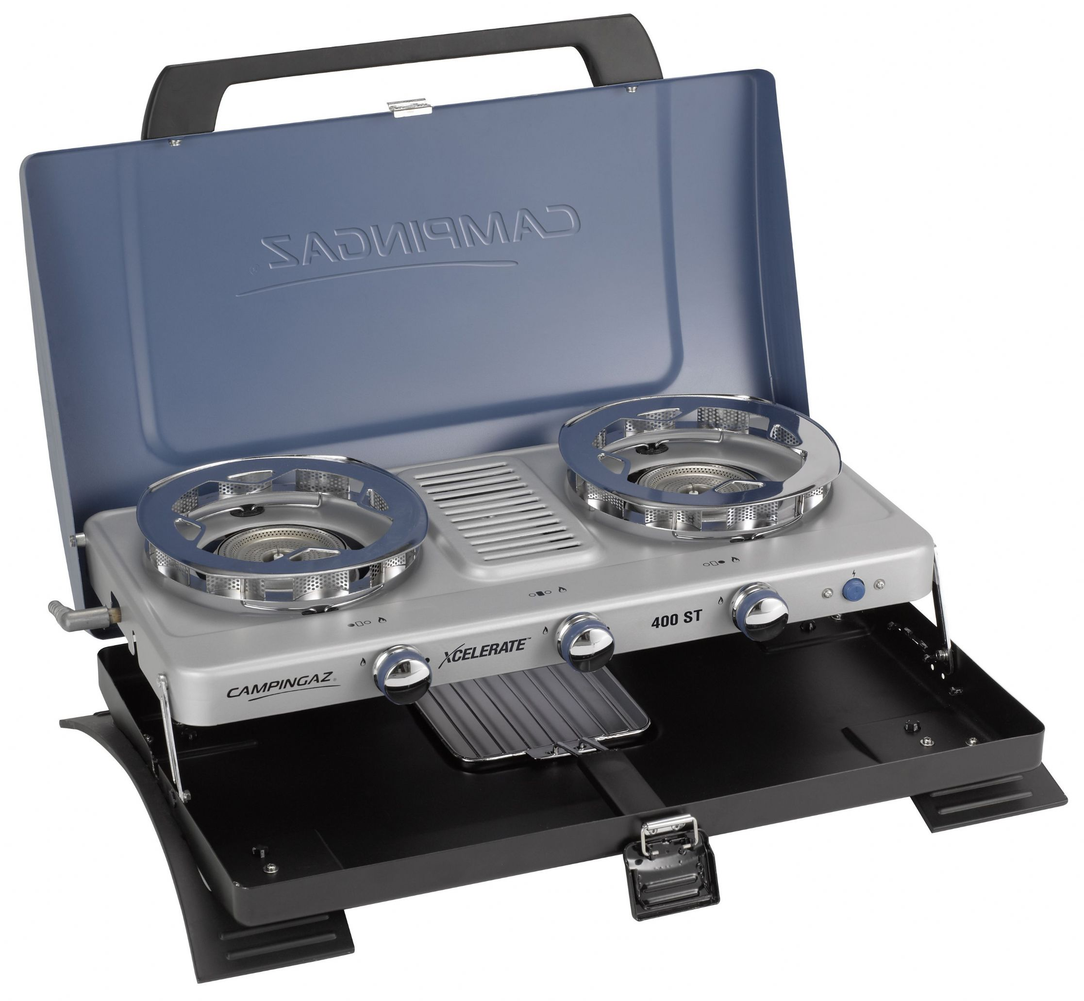 Campingaz 400-ST Double Burner & Toaster Portable Camping Stove, Portable stoves, fishing ...