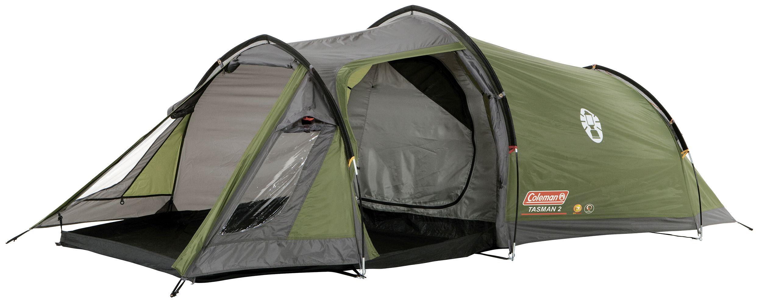 Coleman Tasman 2 Man Camping Tunnel Tent, Tents, camping tents ...
