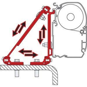 Fiamma F45 Awning Adapter Kit Kit Multi Awning Bracket