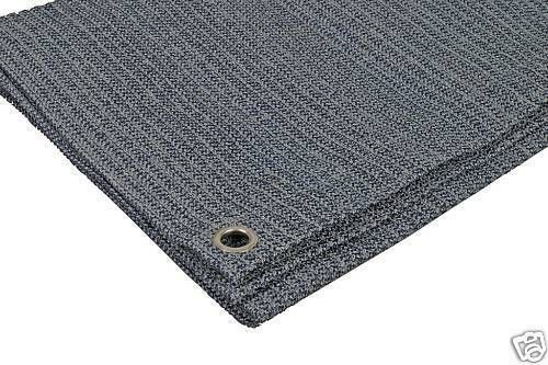 weaveatex breathable awning flooring/groundsheet - blue, green