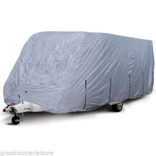 Aluminised Caravan Winter Cover 14-17 Ft, Vehicle Covers - Grasshopper Leisure