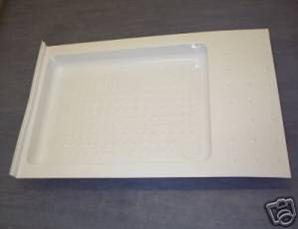 Caravan / Motorhome Shower Tray (to suit Thetford C402 Cassette Toilet)