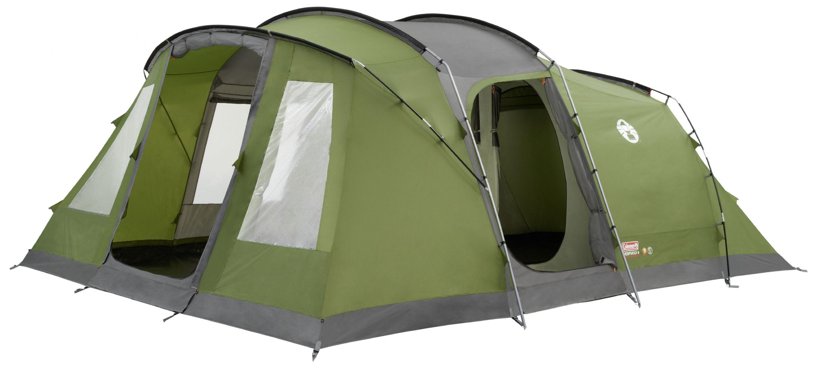 sc 1 st  Grasshopper Leisure & Coleman Vespucci 6 Man Family Tent - Grasshopper Leisure