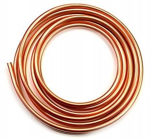 Copper Tube 8mm Gas Installations (per metre)