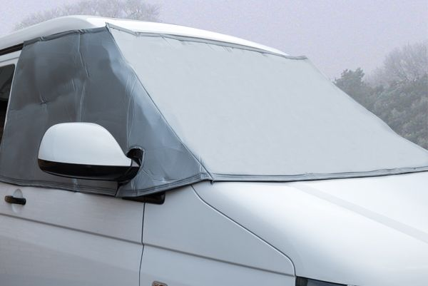 External Fitted Thermal Screen - Available for a range of vehicles, campervan caravan and motorhome - Grasshopper Leisure