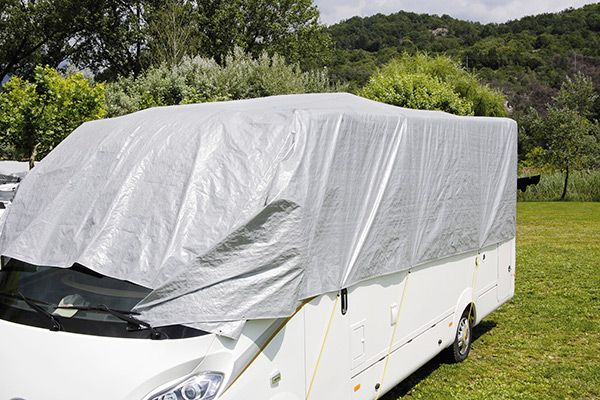 Fiamma Caravan Cover Top, Vehicle Winter Covers, Motorhome Caravan rain cover - Grasshopper Leisure