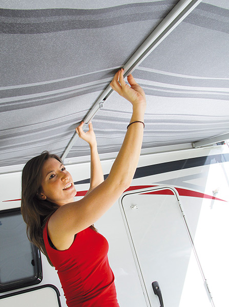 Fiamma Curved Tension Rafter Pro, caravan and motorhome awning accessories - Grasshopper Leisure