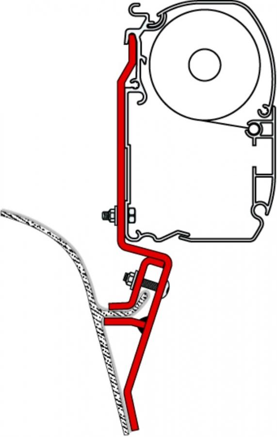 Fiamma F45 Awning Adapter Kit