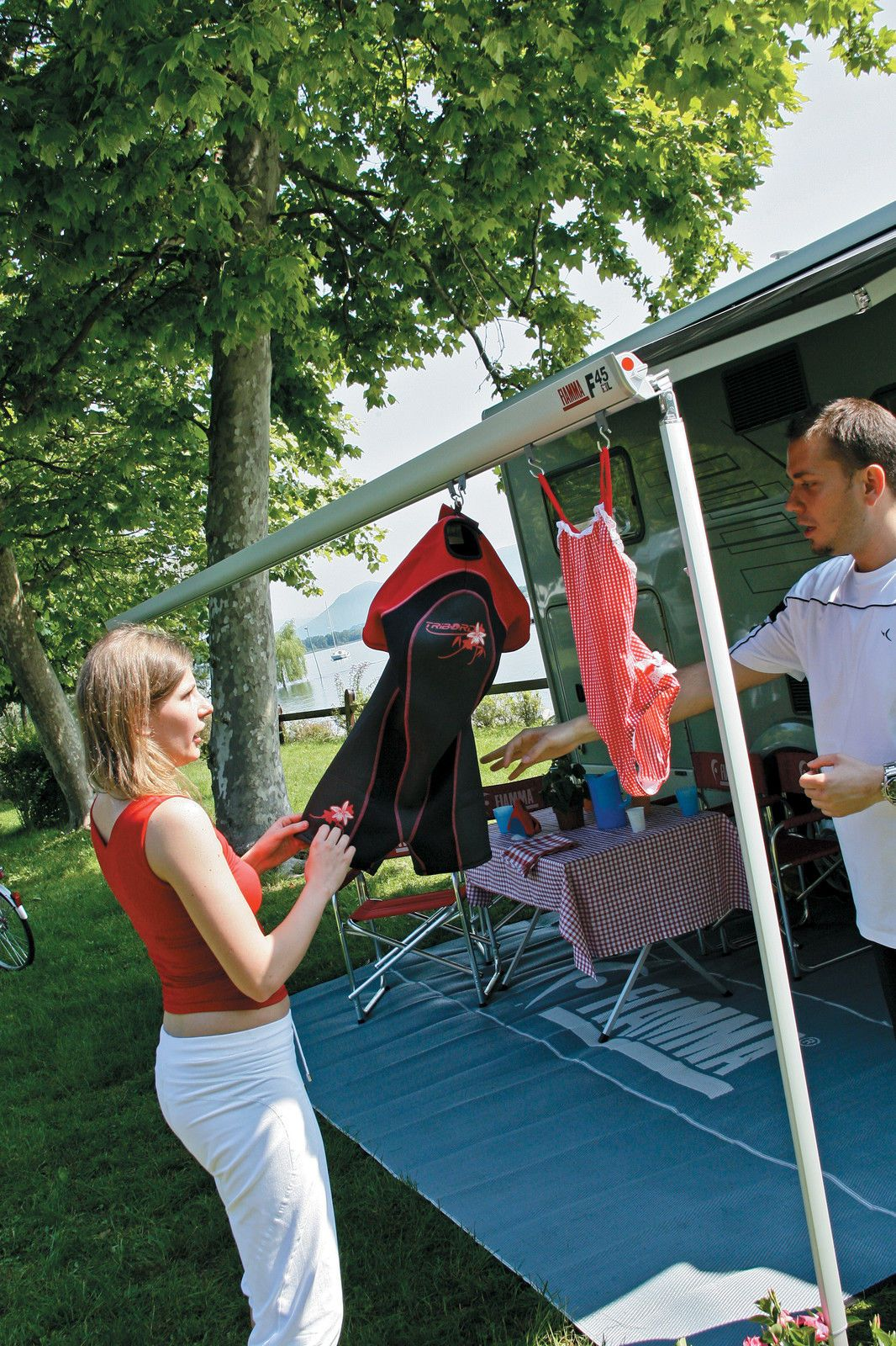 Fiamma 98655-743 Kit Awning Hangers Canopy S Hook Set of 6 for Motorhome Caravan