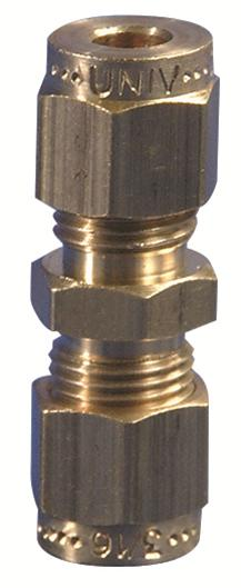 "Gas Connector Fitting 1/4"" - 5/16"" Straight Coupling"