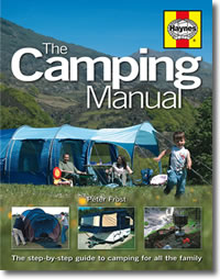 Haynes The Camping Manual Book - Grasshopper Leisure