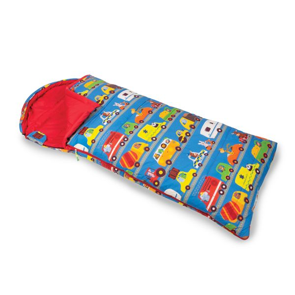 Kampa Animal Traffic Children's Camping Sleeping Bag - Grasshopper Leisure