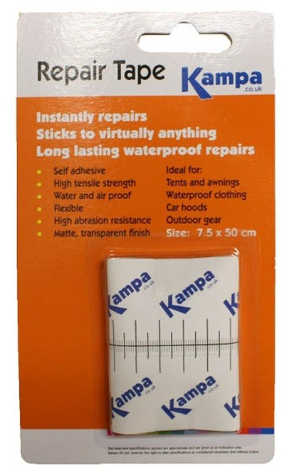 Kampa Awning & Tent Repair Tape, Tent & Camping Accessories - Grasshopper Leisure