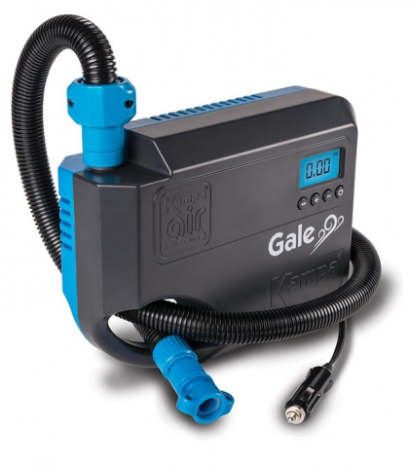 KAMPA Gale 12 v High Pressure Pump for air awnings, inflatables & SUP's and more, air pump - Grasshopper Leisure