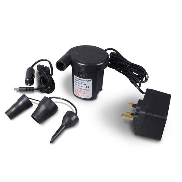KAMPA Twister Two Way Quick Inflator - 12 v / 240 v, Air Pump  - Grasshopper Leisure