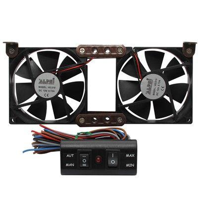 Motorhome Fridge Fan