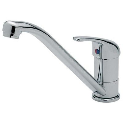 OMEGA TAP WITH FLEXI TAILS (Y000385), Kitchen Taps, Taps & Shower Mixers, Caravan Motorhome Campervan - Grasshopper Leisure