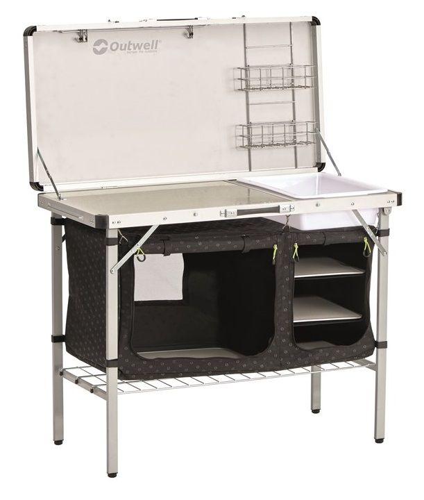 Outwell Drayton Kitchen Table , Storage Units, Camping Kitchen ...