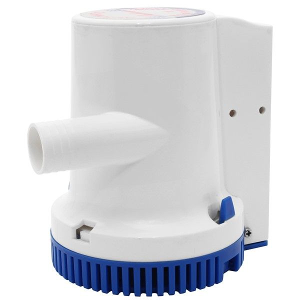 PUMP BILGE AUTO 24V 1500GPH AAA 18052-24, Bilge Water Pumps for Marine - Grasshopper Leisure