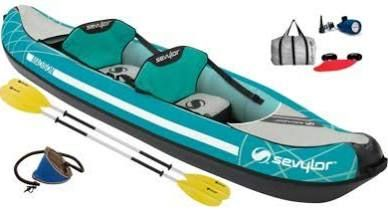 Sevylor Madison Inflatable Kayak Kit - Grasshopper Leisure