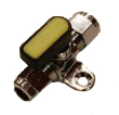 Single Gas Tap, Manifolds, Gas equipment for Campervan, Caravan & Motorhome - Grasshopper Leisure