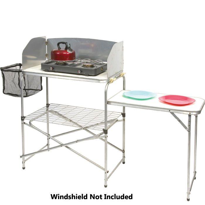 Sunncamp superlite aluminium camping kitchen storage for Outdoor storage units for sale