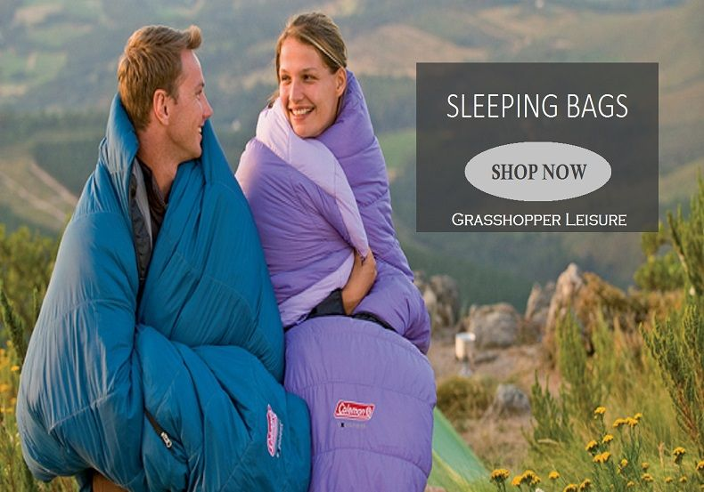 Camping sleeping bags on sale